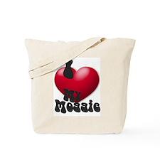 """""""I Love My Moggie!"""" Tote Bag"""