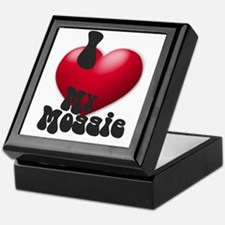 """""""I Love My Moggie!"""" Keepsake Box"""