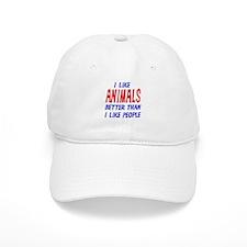 I Like Animals Baseball Cap