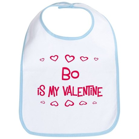 Bo is my valentine Bib