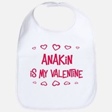 Anakin is my valentine Bib