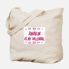 Anakin is my valentine Tote Bag