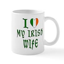 I Love My Irish Wife Center Mug