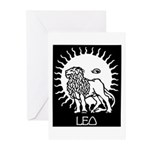 Leo Greeting Cards (Pk of 10)