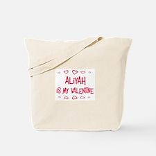 Aliyah is my valentine Tote Bag