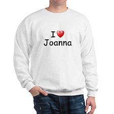 I Love Joanna (Black) Sweatshirt