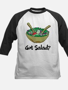 Got Salad Kids Baseball Jersey