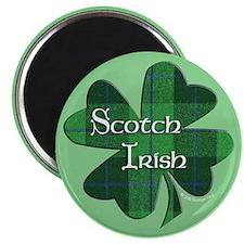 "Scotch Irish Shamrock 2.25"" Magnet (10 pack)"