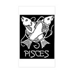 Pisces Rectangle Sticker