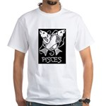 Pisces White T-Shirt