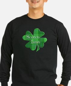Scotch Irish Shamrock T