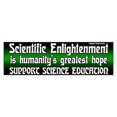 Science Education Bumper Bumper Sticker