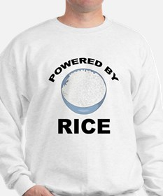 Powered By Rice Sweatshirt