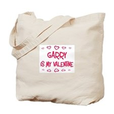 Garry is my valentine Tote Bag
