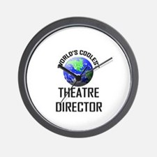 World's Coolest THEATRE DIRECTOR Wall Clock