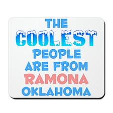 Coolest: Ramona, OK Mousepad