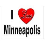 I Love Minneapolis Small Poster