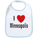 I Love Minneapolis Bib