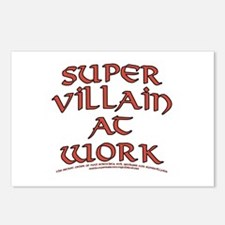 Supervillain at Work Postcards (Package of 8)