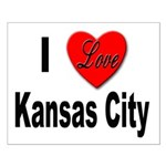 I Love Kansas City Small Poster