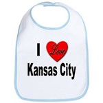 I Love Kansas City Bib