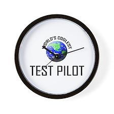 World's Coolest TEST PILOT Wall Clock