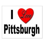 I Love Pittsburgh Small Poster