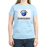 World's Coolest TELMATOLOGIST Women's Light T-Shir