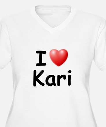 I Love Kari (Black) T-Shirt