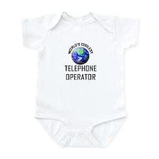 World's Coolest TELEPHONE OPERATOR Infant Bodysuit