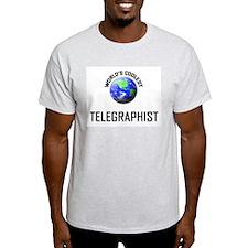World's Coolest TELEGRAPHIST T-Shirt
