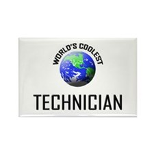 World's Coolest TECHNICIAN Rectangle Magnet