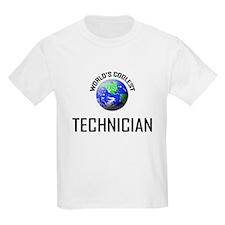 World's Coolest TECHNICIAN T-Shirt
