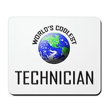 World's Coolest TECHNICIAN Mousepad