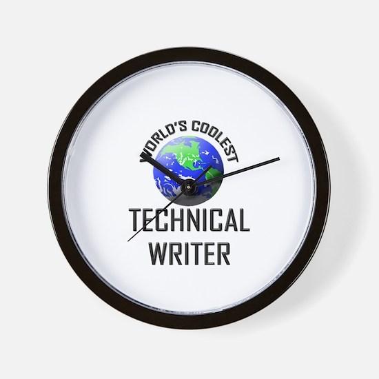 World's Coolest TECHNICAL WRITER Wall Clock