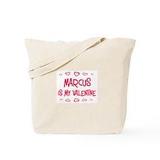 Marcus is my valentine Tote Bag