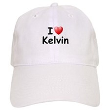 I Love Kelvin (Black) Baseball Cap