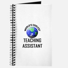 World's Coolest TEACHING ASSISTANT Journal
