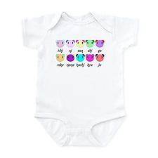Suji Hippo Infant Bodysuit