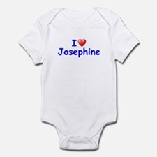 I Love Josephine (Blue) Infant Bodysuit
