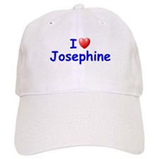 I Love Josephine (Blue) Baseball Cap