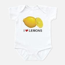 I Love Lemons Infant Bodysuit