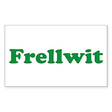 Frellwit Rectangle Decal