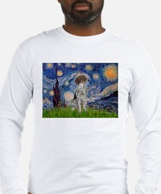 Starry Night /German Short Long Sleeve T-Shirt