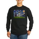 Starry Night /German Short Long Sleeve Dark T-Shir