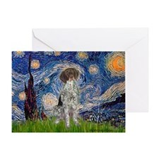 Starry Night /German Short Greeting Card