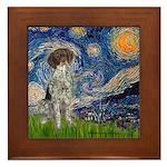 Starry Night /German Short Framed Tile