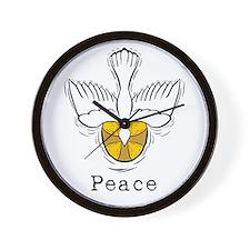 Peace Dove Wall Clock