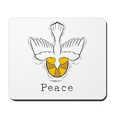 Peace Dove Mousepad