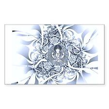Lotus Buddha Rectangle Bumper Stickers